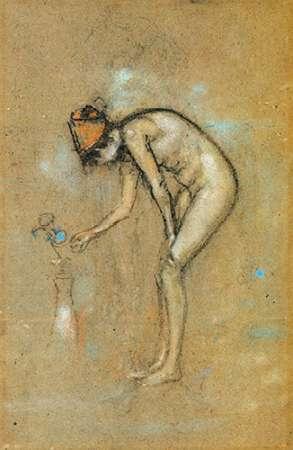 konfigurieren des Kunstdrucks in Wunschgröße A Violet Note 1885 von Whistler, James McNeill
