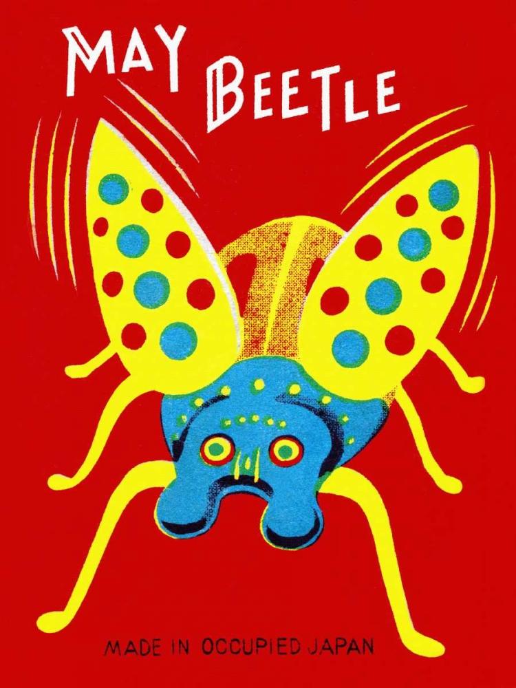 konfigurieren des Kunstdrucks in Wunschgröße May Beetle von Retrobot