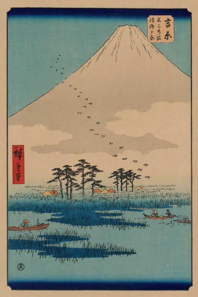 Yoshiwara von Hiroshige, Ando <br> max. 81 x 122cm <br> Preis: ab 10€