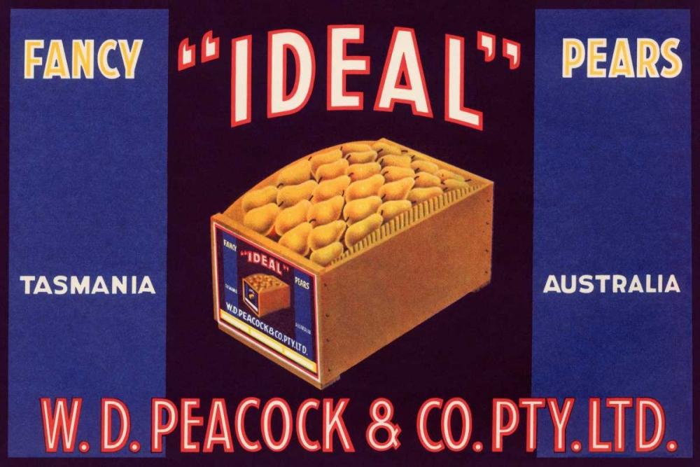 konfigurieren des Kunstdrucks in Wunschgröße Ideal Fancy Pears von Unknown