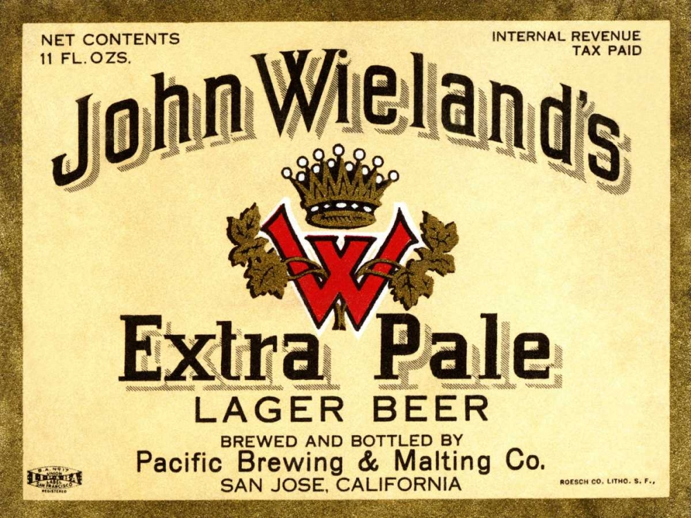 Vintage Booze Labels