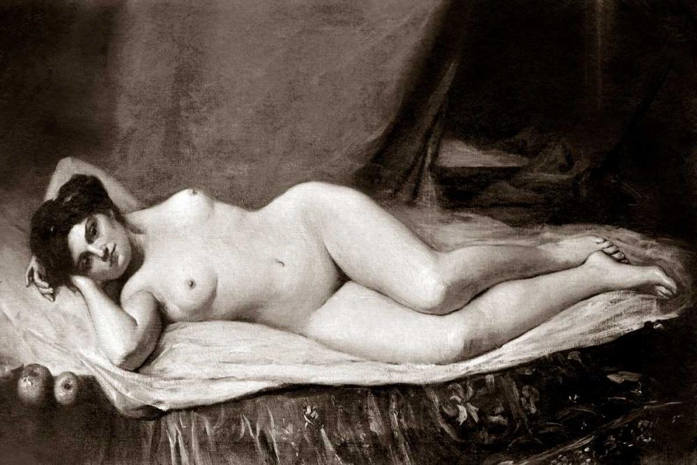 konfigurieren des Kunstdrucks in Wunschgröße Sensuality von Vintage Nudes