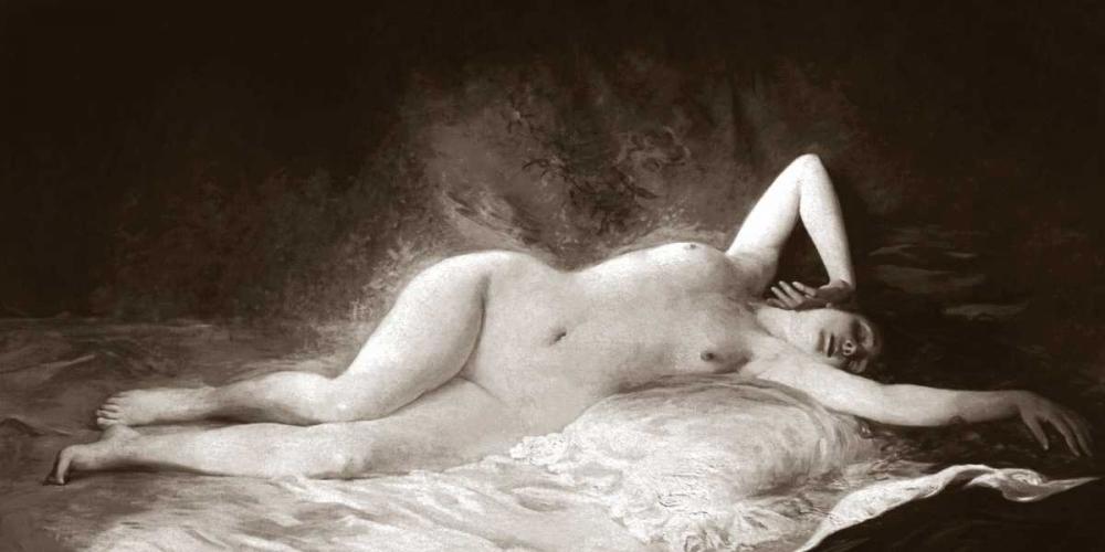 konfigurieren des Kunstdrucks in Wunschgröße The Nap von Vintage Nudes
