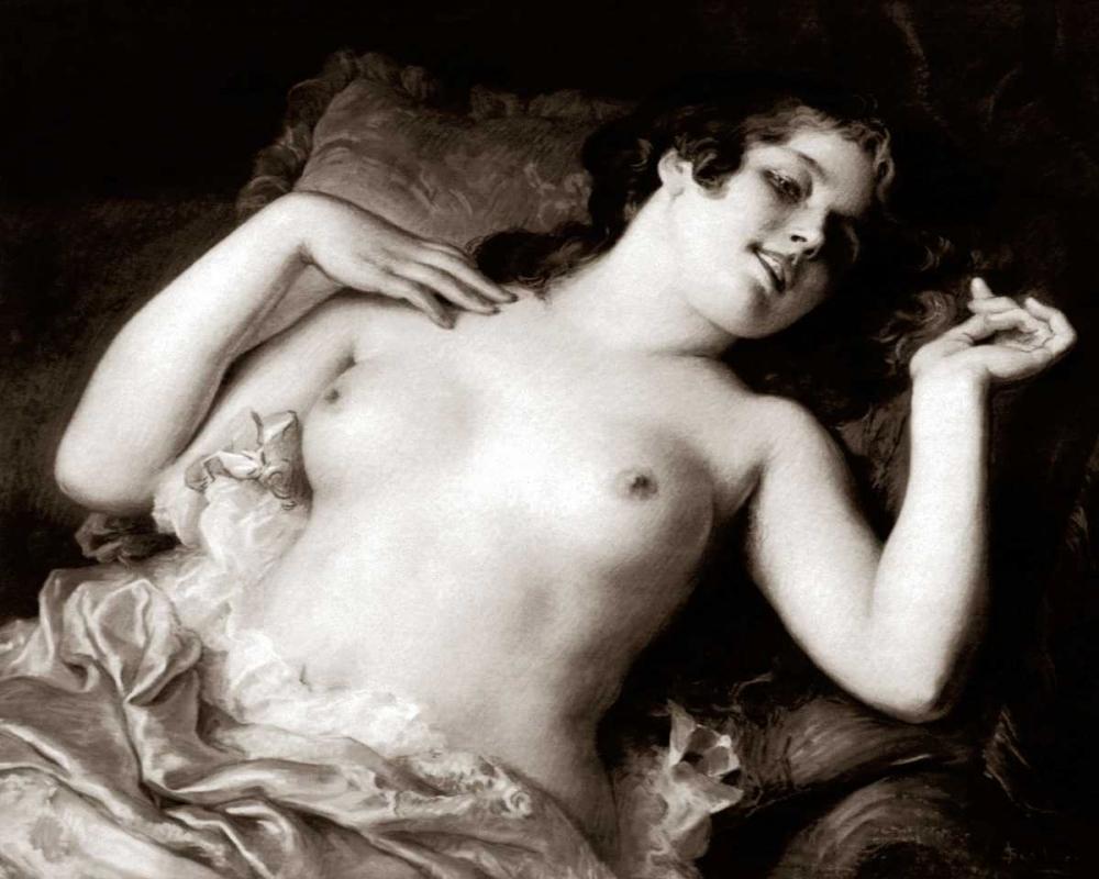 konfigurieren des Kunstdrucks in Wunschgröße Grace von Vintage Nudes