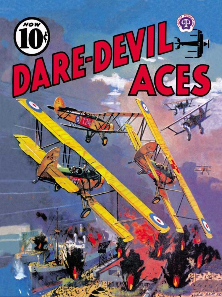konfigurieren des Kunstdrucks in Wunschgröße Dare-Devil Aces: The Dead Will Fly Again von Unknown