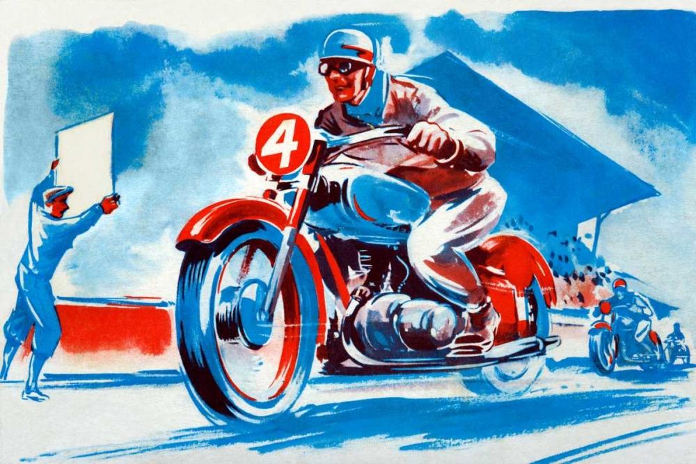 konfigurieren des Kunstdrucks in Wunschgröße No. 4 Motorcycle von Unknown