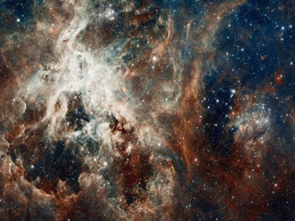 konfigurieren des Kunstdrucks in Wunschgröße Tarantula Nebula - Compressed Version von NASA