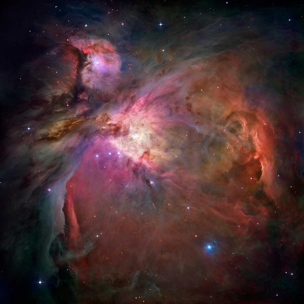 konfigurieren des Kunstdrucks in Wunschgröße Orion Nebula von NASA