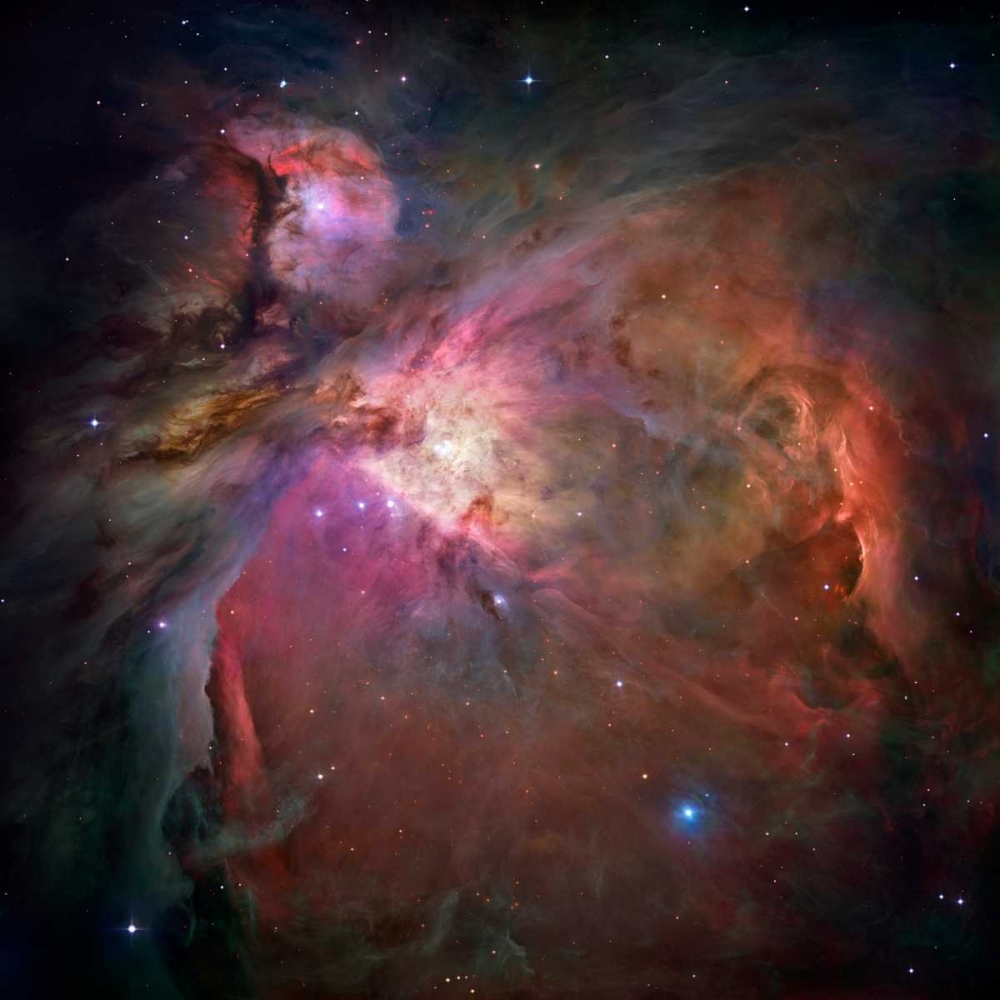 Orion Nebula von NASA <br> max. 135 x 135cm <br> Preis: ab 10€