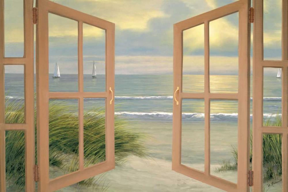 Gentle Breeze through Door von Romanello, Diane <br> max. 165 x 109cm <br> Preis: ab 10€