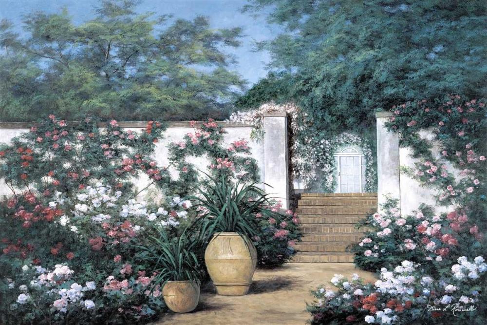Jardin de Fleur von Romanello, Diane <br> max. 165 x 109cm <br> Preis: ab 10€