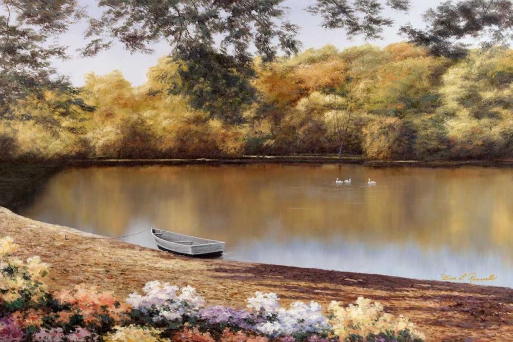 Golden Pond von Romanello, Diane <br> max. 165 x 109cm <br> Preis: ab 10€
