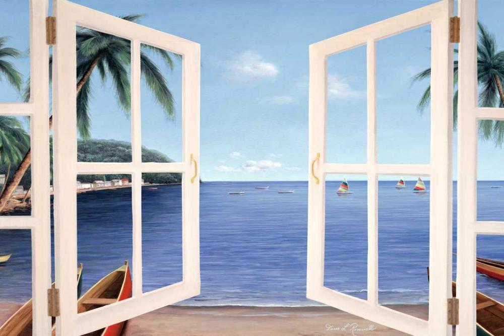 Day Dreams through Window von Romanello, Diane <br> max. 165 x 109cm <br> Preis: ab 10€