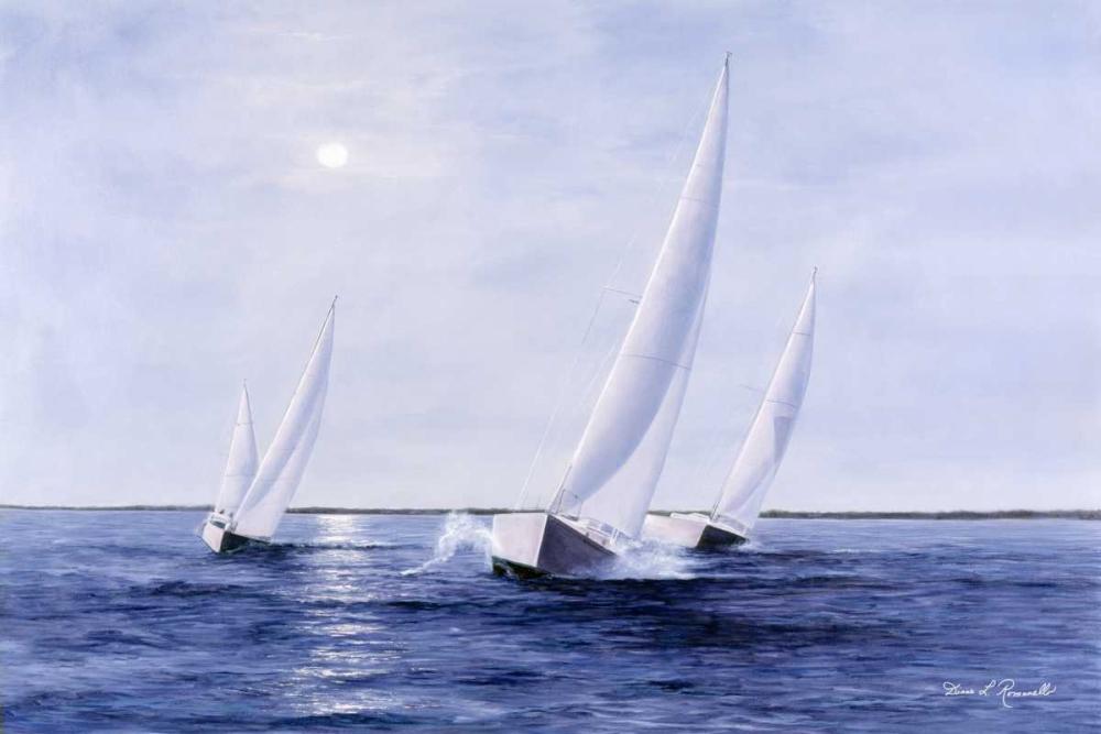 Blue Sails von Romanello, Diane <br> max. 165 x 109cm <br> Preis: ab 10€