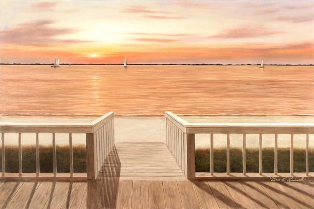 Sunset Deck von Romanello, Diane <br> max. 165 x 109cm <br> Preis: ab 10€