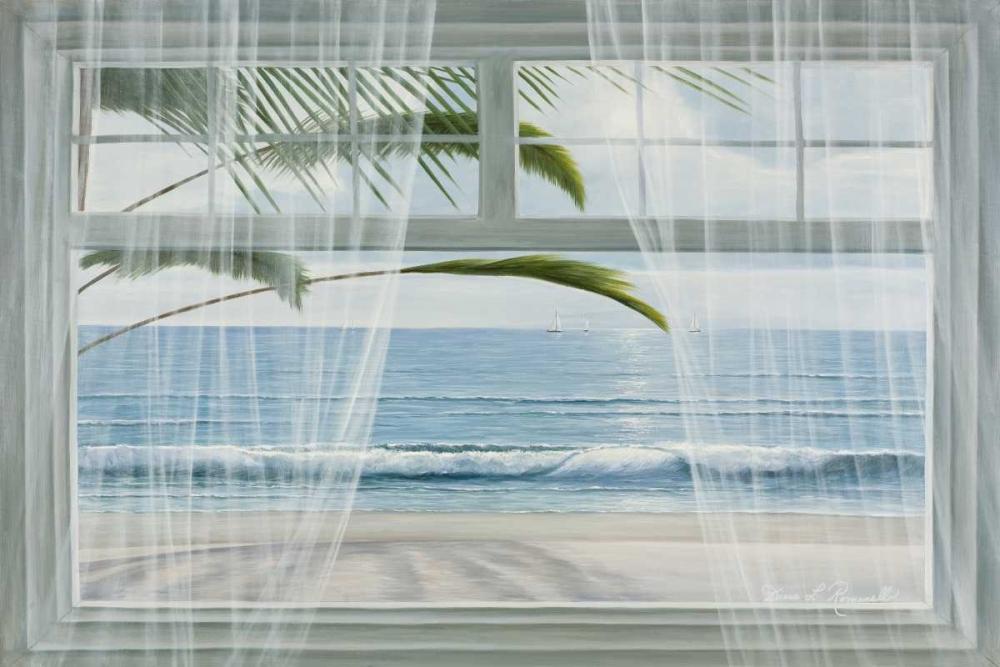konfigurieren des Kunstdrucks in Wunschgröße View of the Tropics von Romanello, Diane
