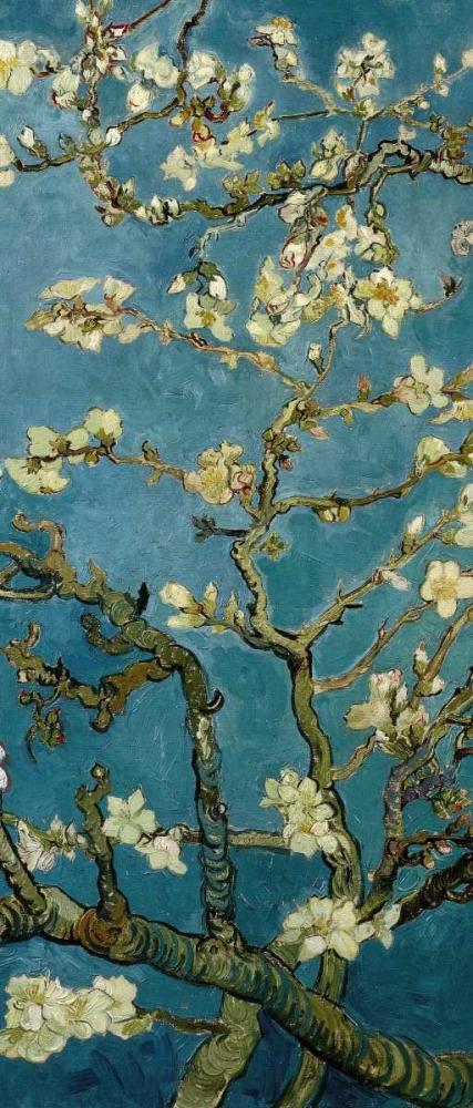 konfigurieren des Kunstdrucks in Wunschgröße Blossoming Almond Tree - center von Van Gogh, Vincent