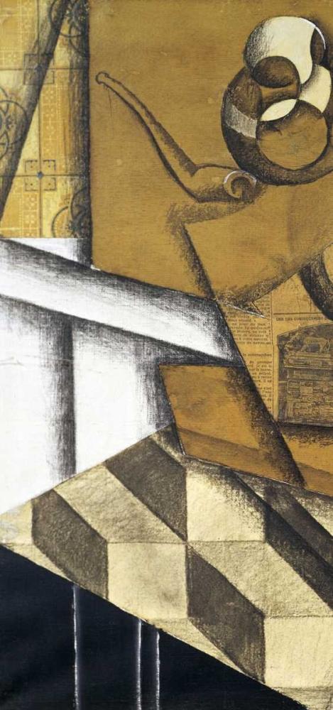 konfigurieren des Kunstdrucks in Wunschgröße Teacups - left von Gris, Juan