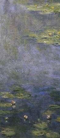 konfigurieren des Kunstdrucks in Wunschgröße Water Lilies (Nympheas) IV (center) von Monet, Claude
