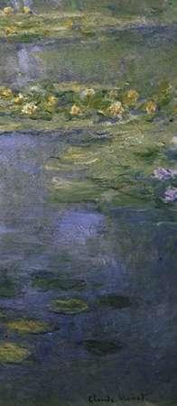 konfigurieren des Kunstdrucks in Wunschgröße Water Lilies (Nympheas) IV (right) von Monet, Claude