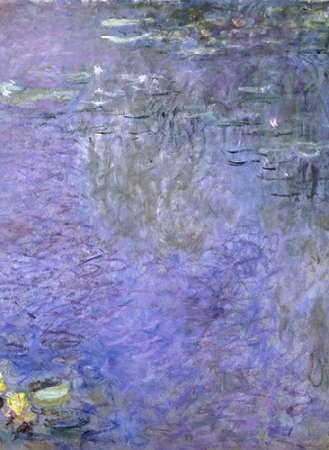 konfigurieren des Kunstdrucks in Wunschgröße Water Lilies: Morning, c. 1914-26 (center) von Monet, Claude
