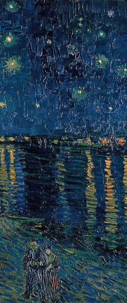 konfigurieren des Kunstdrucks in Wunschgröße Starlight Over the Rhone (right) von Van Gogh, Vincent