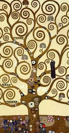 konfigurieren des Kunstdrucks in Wunschgröße The Stoclet Frieze (center) von Klimt, Gustav