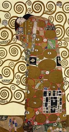 konfigurieren des Kunstdrucks in Wunschgröße The Stoclet Frieze (right) von Klimt, Gustav