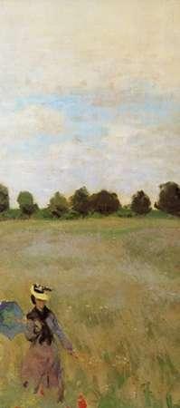 konfigurieren des Kunstdrucks in Wunschgröße Field Of Poppies (Les Coquelicots) 1873 (right) von Monet, Claude