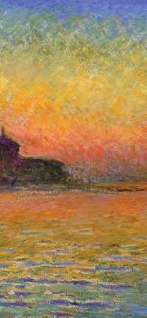konfigurieren des Kunstdrucks in Wunschgröße Twilight Venice (center) von Monet, Claude