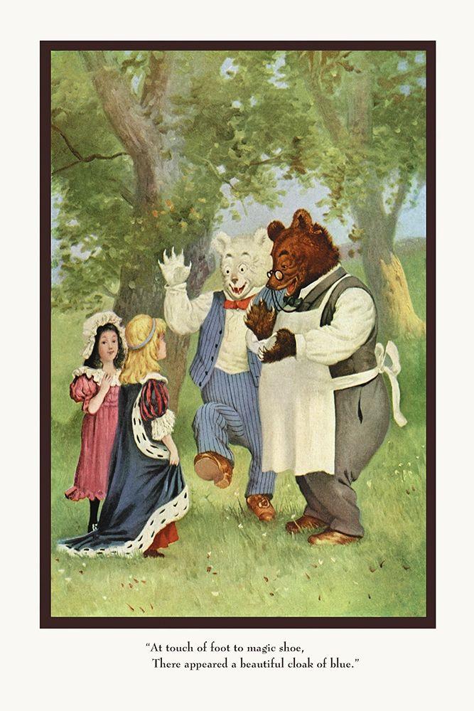 konfigurieren des Kunstdrucks in Wunschgröße Teddy Roosevelts Bears: The Cloak von Culver, R.K.