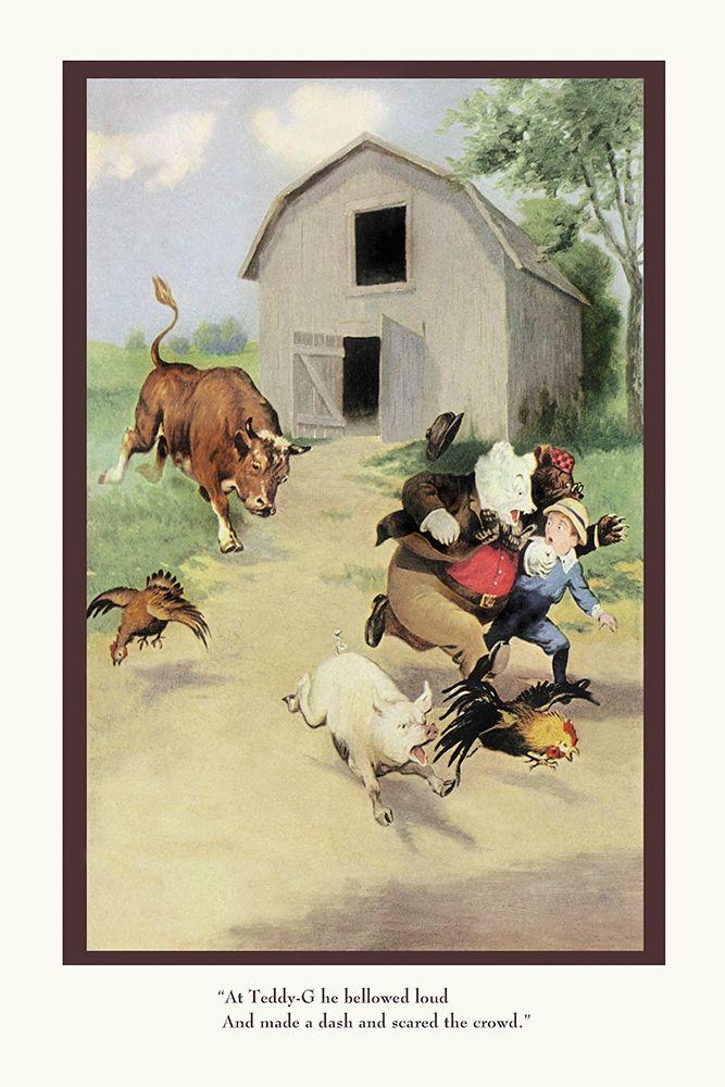konfigurieren des Kunstdrucks in Wunschgröße Teddy Roosevelts Bears: The Bull von Culver, R.K.