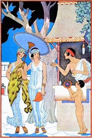 Ancient Greece von Barbier, Georges <br> max. 61 x 91cm <br> Preis: ab 10€