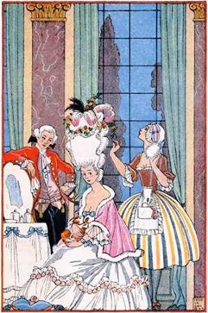 France in the 18th Century von Barbier, Georges <br> max. 61 x 91cm <br> Preis: ab 10€
