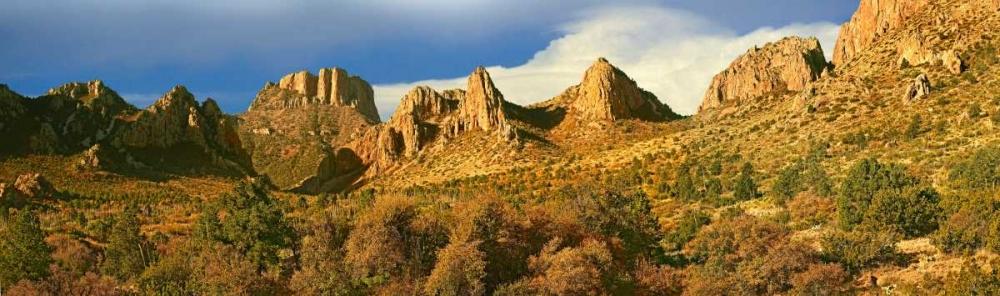 konfigurieren des Kunstdrucks in Wunschgröße Panorama of Casa Grande National Monument, Arizona von Fitzharris, Tim