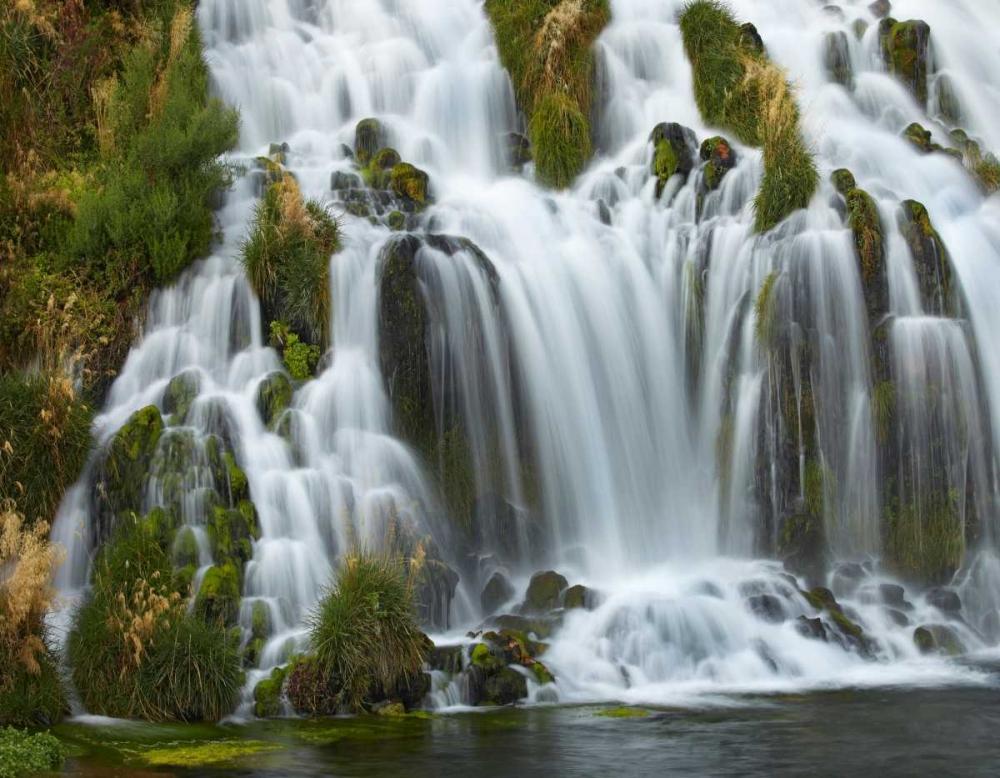 konfigurieren des Kunstdrucks in Wunschgröße Waterfall, Niagara Springs, Thousand Springs State Park, Idaho. von Fitzharris, Tim