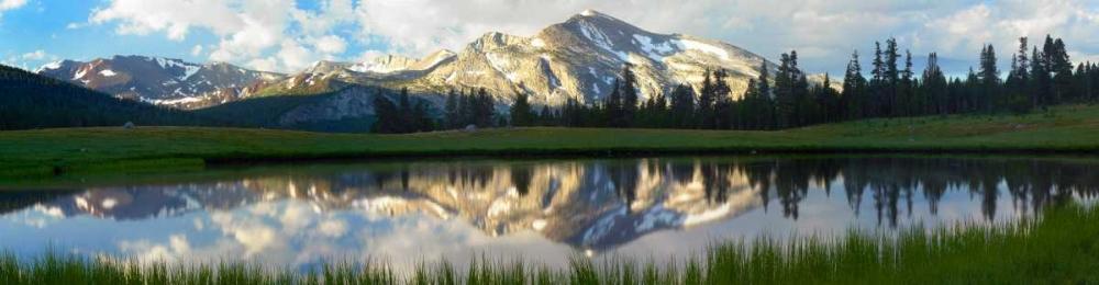 konfigurieren des Kunstdrucks in Wunschgröße Panorama of Mammoth Peak and Kuna Crest, Yosemite National Park, California von Fitzharris, Tim