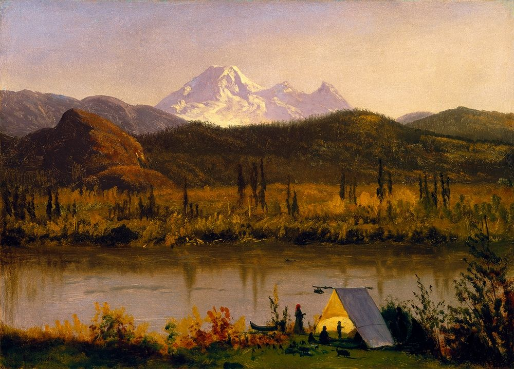 konfigurieren des Kunstdrucks in Wunschgröße Mt. Baker, Washington von Bierstadt, Albert