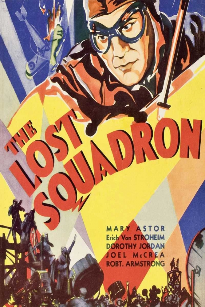 konfigurieren des Kunstdrucks in Wunschgröße Vintage Film Posters: Lost Squadron von Unknown