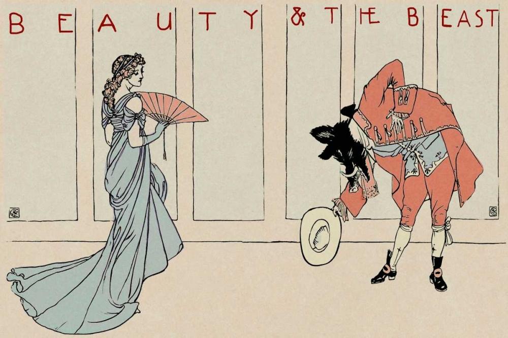 konfigurieren des Kunstdrucks in Wunschgröße Beauty and the Beast - The Bow von Crane, Walter