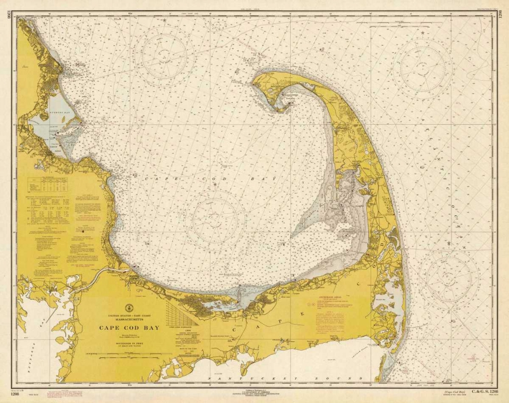 NOAA Historical Map-Chart