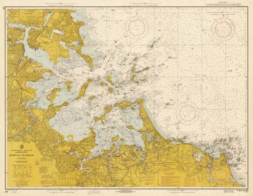 NOAA Historical Map-Chart