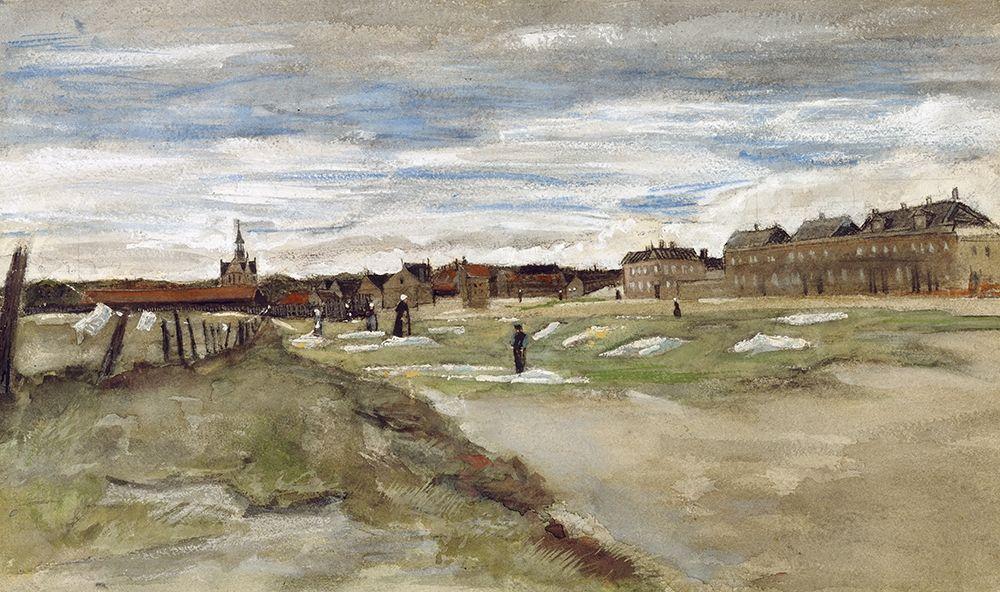 konfigurieren des Kunstdrucks in Wunschgröße Bleachery at Scheveningen von Van Gogh, Vincent