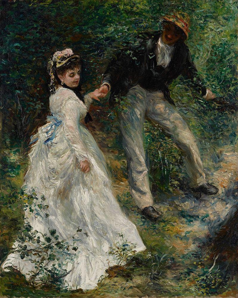 konfigurieren des Kunstdrucks in Wunschgröße La Promenade von Renoir, Pierre-Auguste