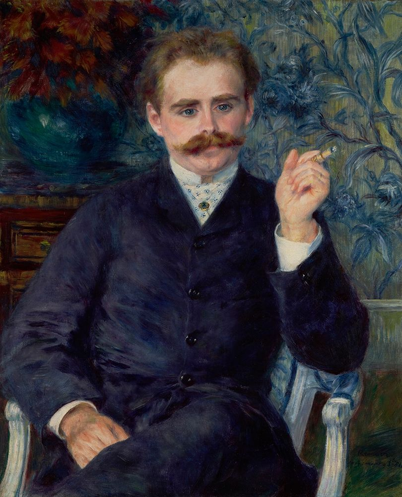 konfigurieren des Kunstdrucks in Wunschgröße Albert Cahen dAnvers von Renoir, Pierre-Auguste