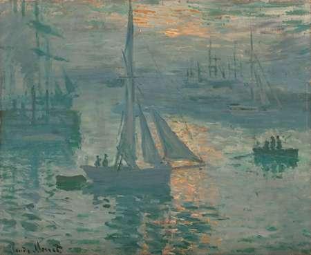 konfigurieren des Kunstdrucks in Wunschgröße Sunrise (Marine) von Monet, Claude