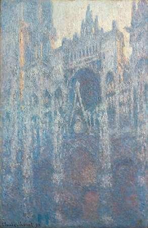 konfigurieren des Kunstdrucks in Wunschgröße The Portal of Rouen Cathedral in Morning Light von Monet, Claude