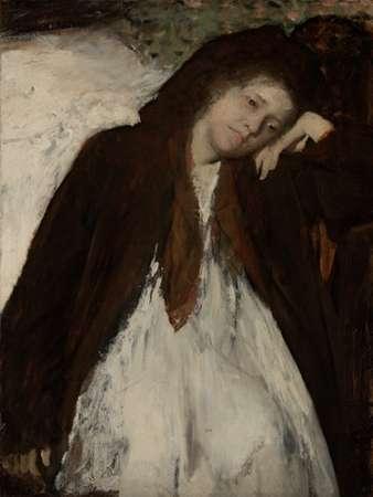 konfigurieren des Kunstdrucks in Wunschgröße The Convalescent von Degas, Edgar
