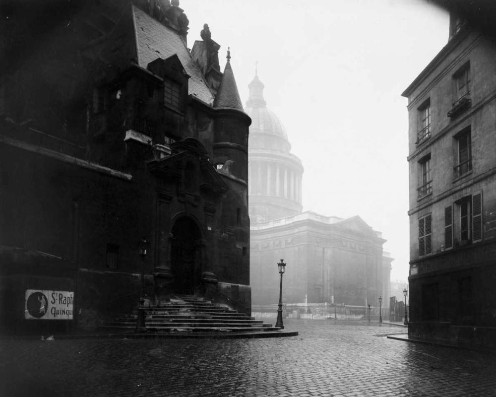 konfigurieren des Kunstdrucks in Wunschgröße Paris, 1924 - The Pantheon von Atget, Eugene