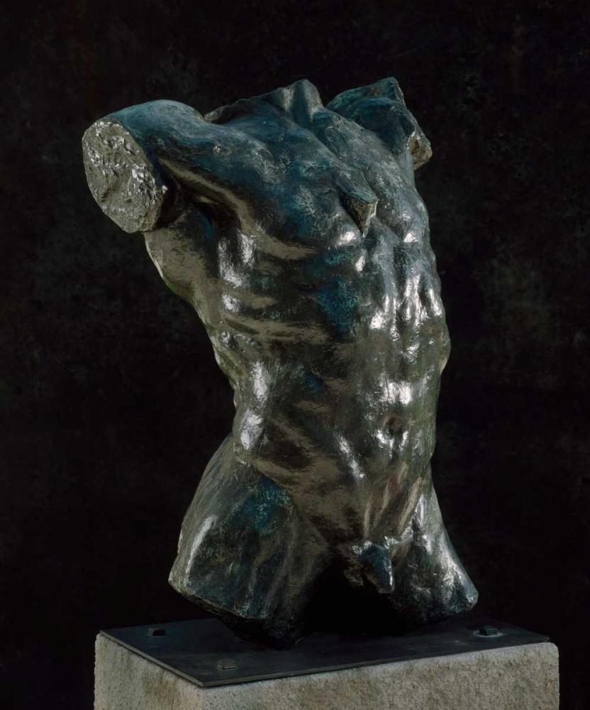 konfigurieren des Kunstdrucks in Wunschgröße Marsyas - Torso of The Falling Man, ca. 1882-1889 von Rodin, Auguste
